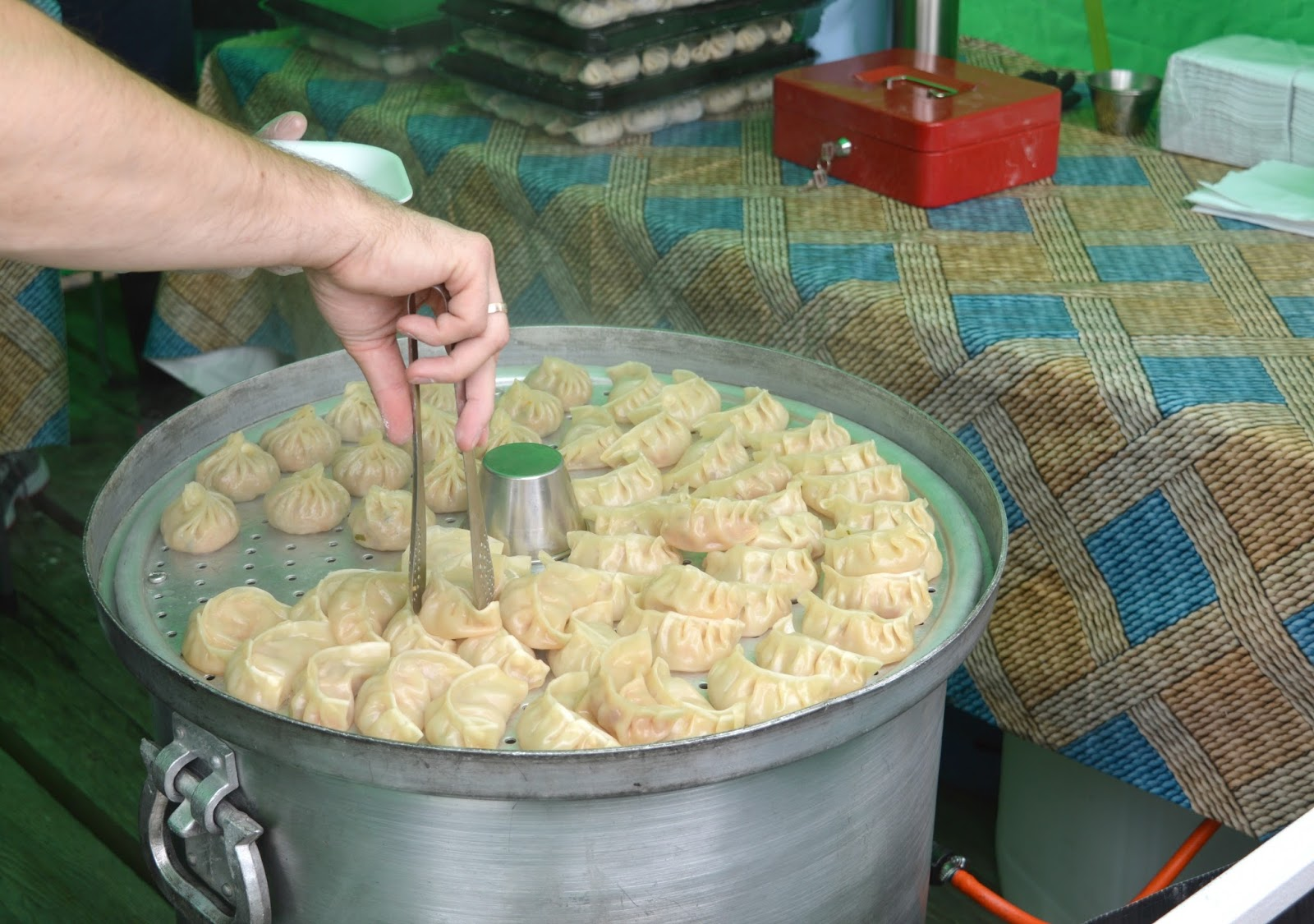 The Staiths Food Market Gateshead - Mo:Mo Dumplings