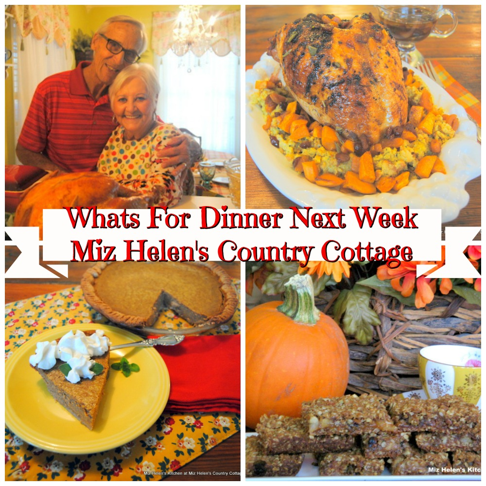 Whats For Dinner Next Week * Week of 11-21-20