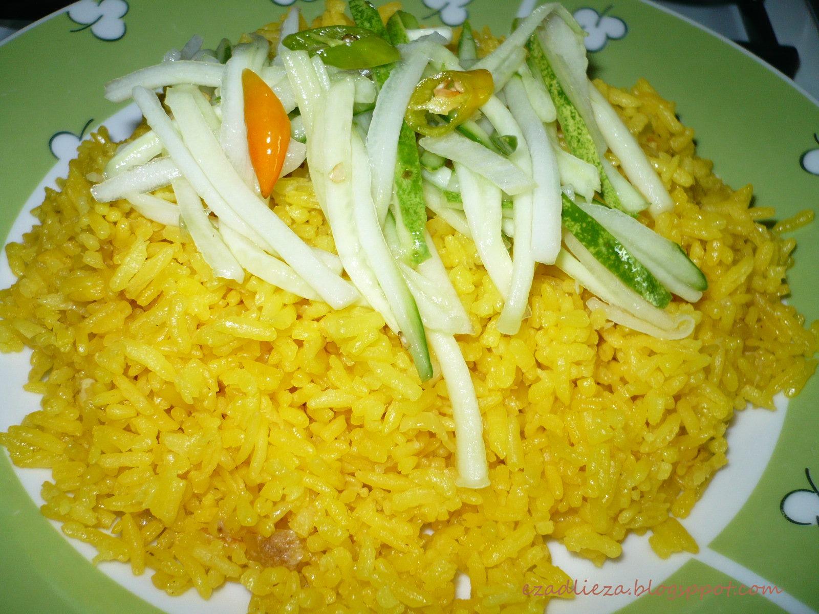 story  neverr  nasi kuning knor style Resepi Nasi Minyak Brunei Enak dan Mudah