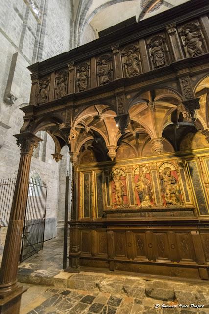 Panel Policromado del Jubé de la Catedral de Santa Maria, en Saint Bertand de Comminges por El Guisante Verde Project
