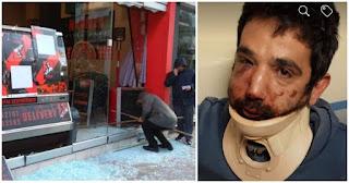 Θεσσαλονίκη: «Έσπασαν» την πιτσαρία του εργοδότη που ξυλοκόπησε τον ντελιβερά