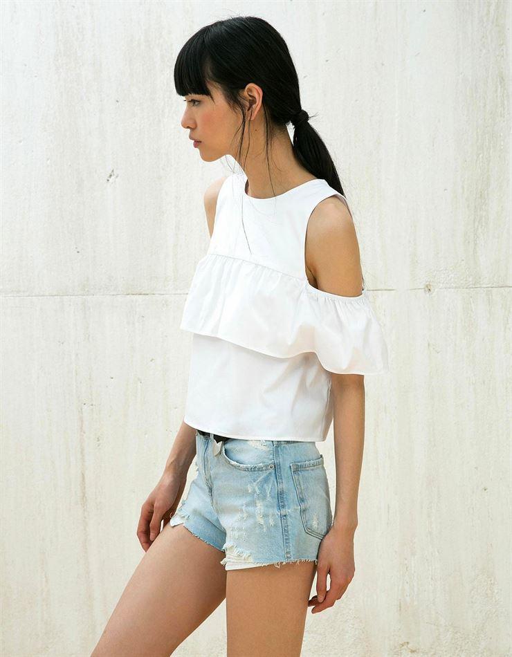 12 blusas blancas para verano 2016