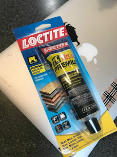 A package of locktite adhesive