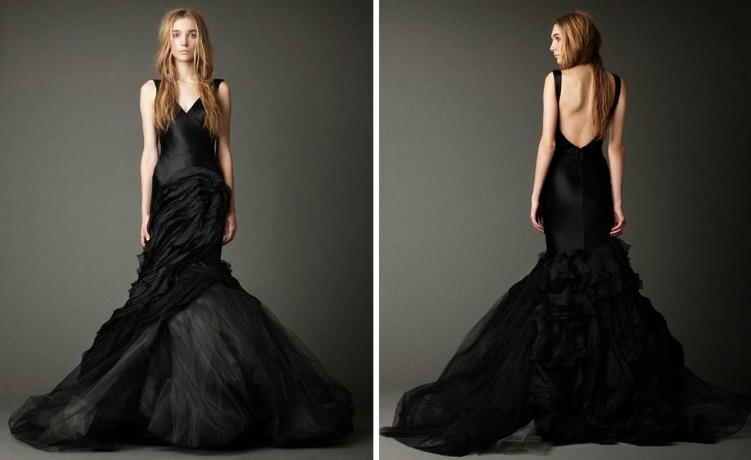 Vera Black Wedding Dress