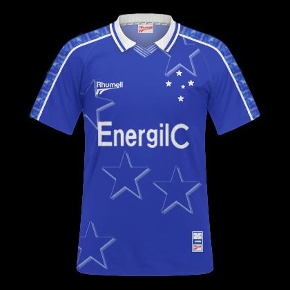 91958562ac16f GT Camisas  Camisas Cruzeiro 1997 - Home e Away