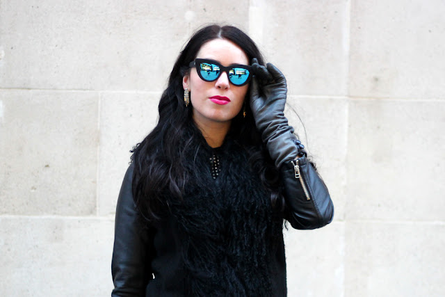 Blogger Emma Louise Layla at London Fashion Week | LFW outfit