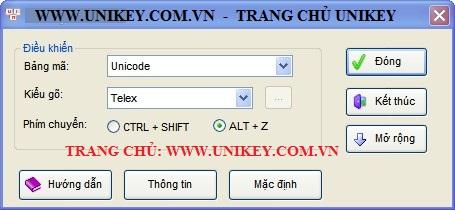 Download unikey 4. 0 rc2 [32/64bit] cho windows xp – vn-win.