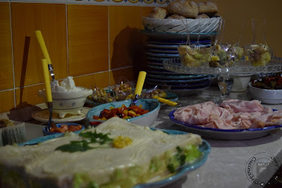 idee per un buffet senza lattosio