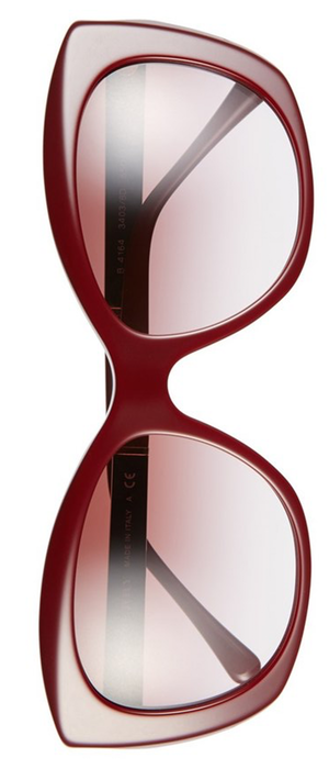 Burberry 55mm Sunglasses in Wine