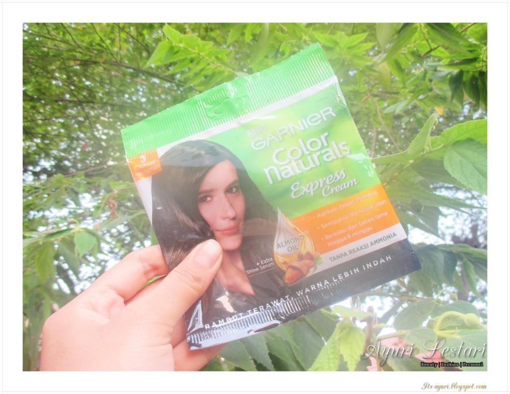 Garnier Color Naturals Express Cream 3 Coklat Kehitaman Review