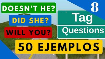 Preguntas de Confirmación en inglés