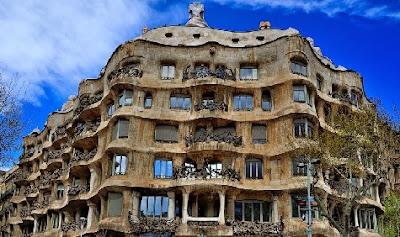 Casa Milá en Barcelona