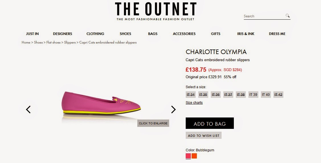 cd06b0755d054 I adore Charlotte Olympia s designs and when I saw this Capri Cats rubber  slippers