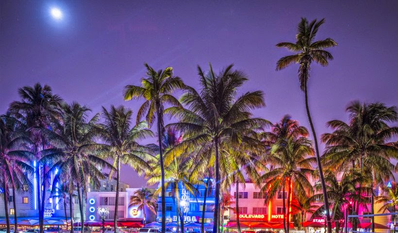 South Miami at Night