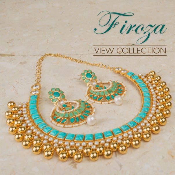 3e0a0973180f6 Amrapali Brings Firoza Collection - Shop Jewelleries with Touch of  Turquoise Starting From Rs.3