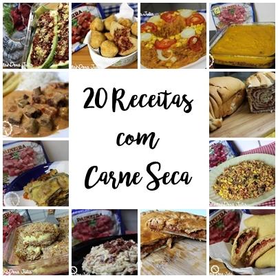 20 RECEITAS COM CARNE SECA