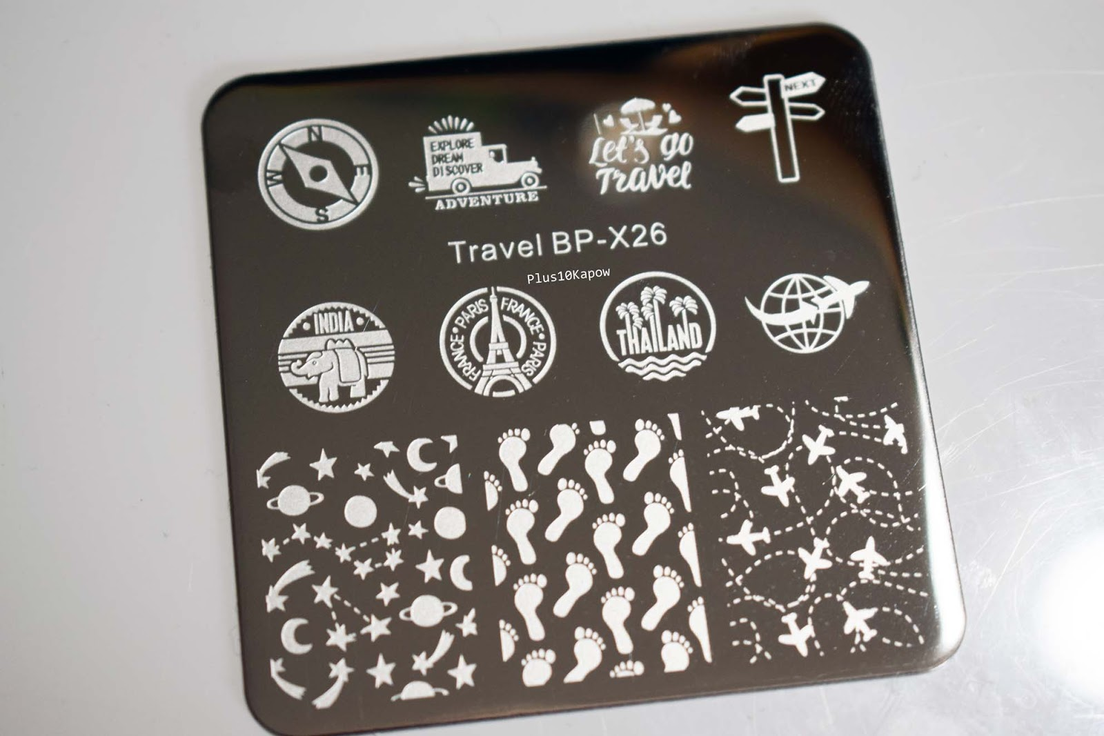 2215706665a0 This plate is the Travel BP-X26 plate from Born Pretty Store