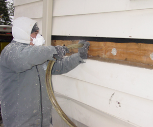 Exterior Wall Insulation - Delmarva Insulation