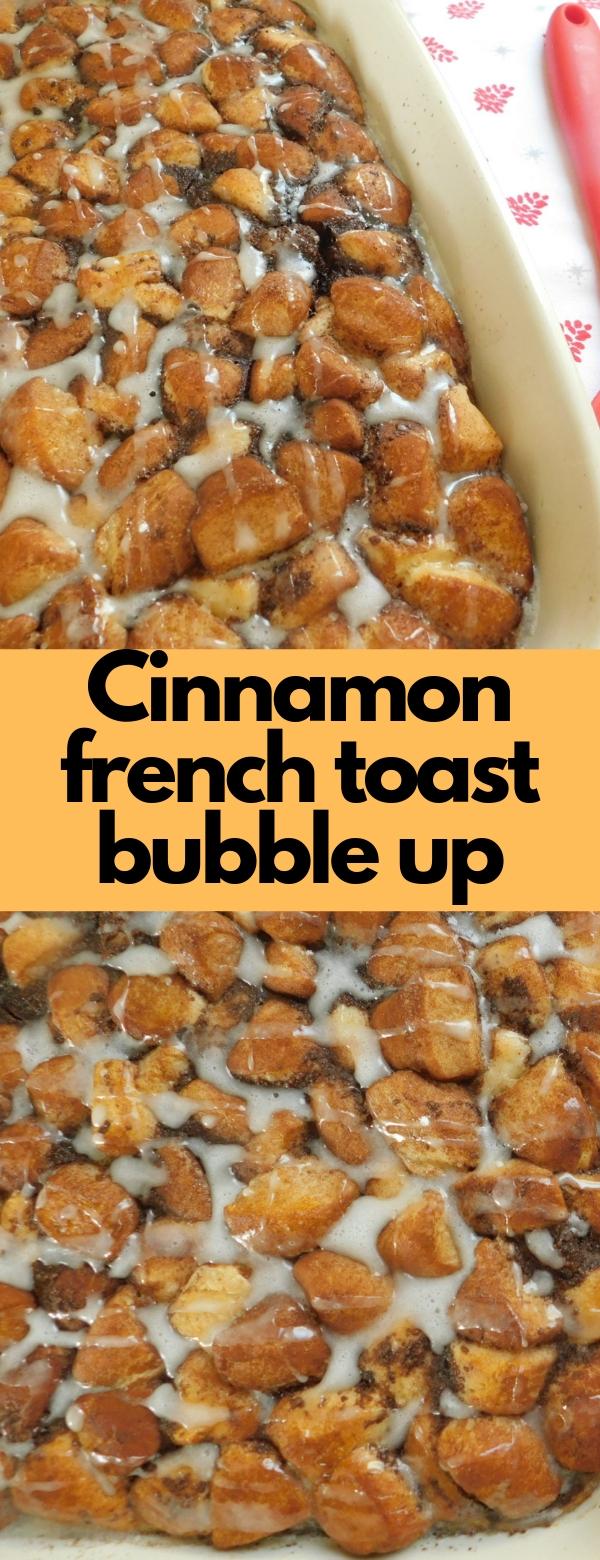 Cinnamon french toast bubble up #vegetarian #glutenfree