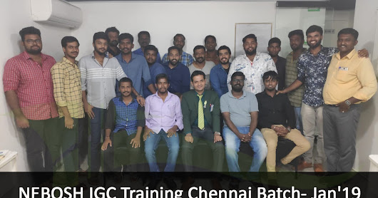 Who is the Best NEBOSH training provider in Chennai?