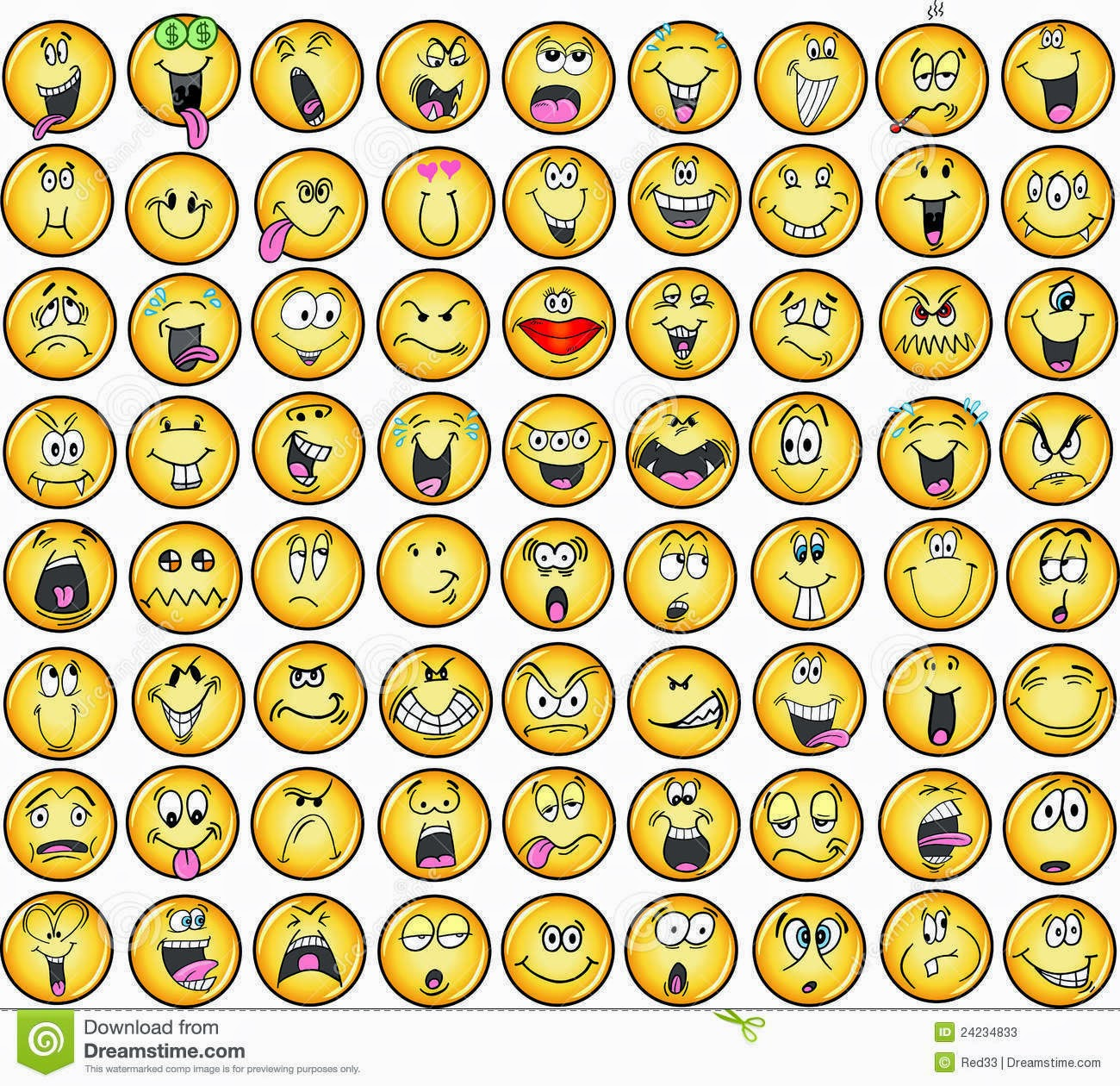 emotion smiley faces - photo #29