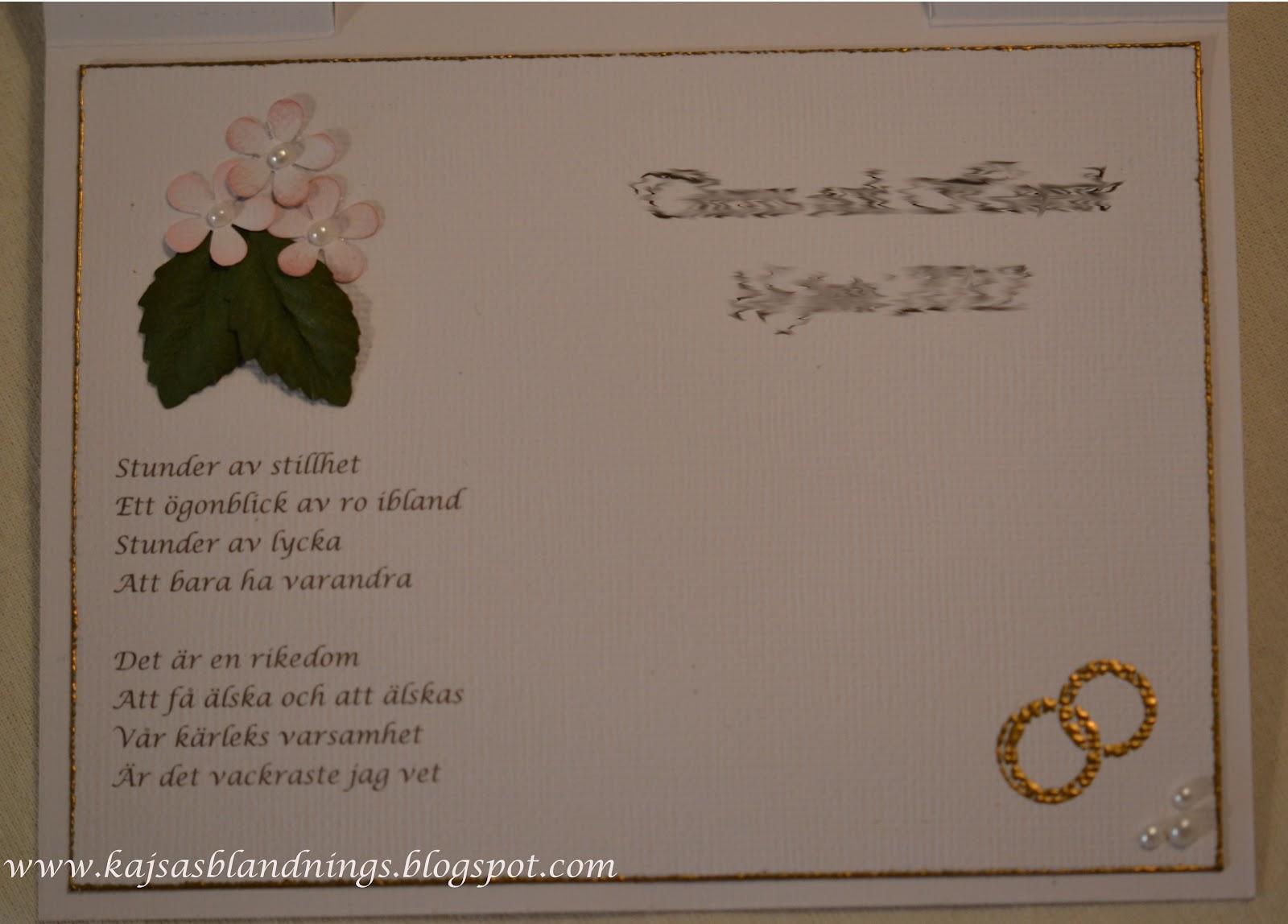 gästbok bröllop vad skriva