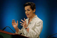 Former United Nations climate chief Christiana Figueres speaks during a debate in the United Nations General Assembly between candidates vying to be the next U.N. Secretary General at U.N. headquarters in Manhattan, New York, U.S., July 12, 2016. (Credit: Reuters/Mike Segar) Click to Enlarge.