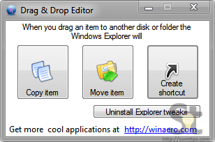 Drag'n'Drop-Editor