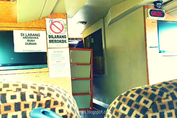 bas ekspress dari tenom ke kota kinabalu