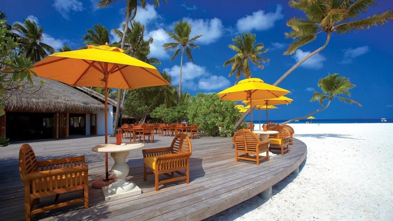 Beach Resort Wallpaper 21: Wallpaper: The Maldive Islands Resort Is A World Best