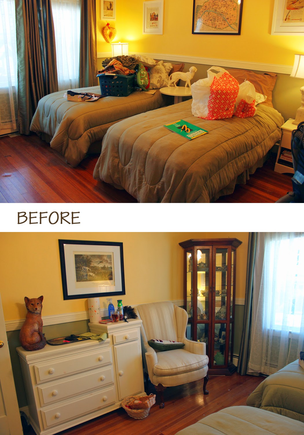 My Great Challenge Spring Cleaning Series The Guest Bedroom