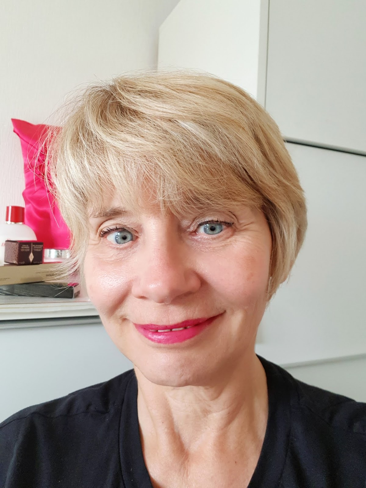 Is This Mutton? the blog for fashionable over 45s, tries out lipsticks and a primer from a brand specifically designed for the mature woman, Look Fabulous Forever.