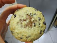 Cookies des rois coeur frangipane à la cacahuète après cuisson