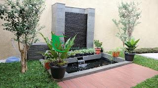 Jasa pembuatan kolam koi dan jasa pembuatan taman minimalis koi