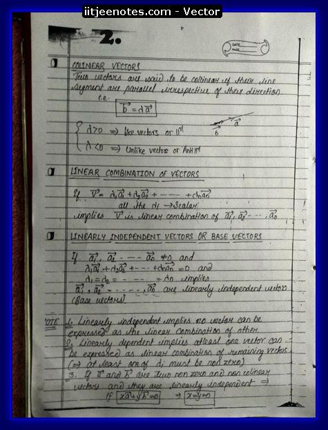 vector notes physics2