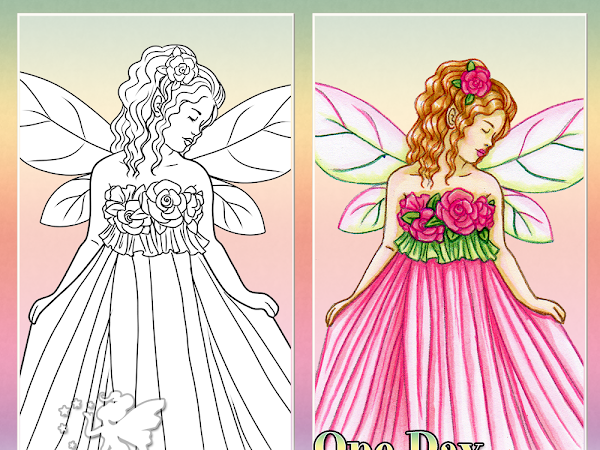 One Day Fae Digi Giveaway May - Sweet Rose Fae