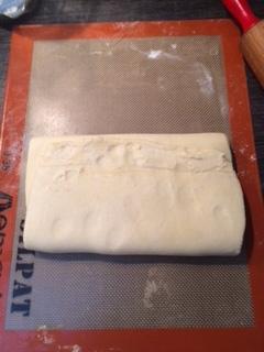 pâte feuilletée inversée , epiphanie , galette des rois