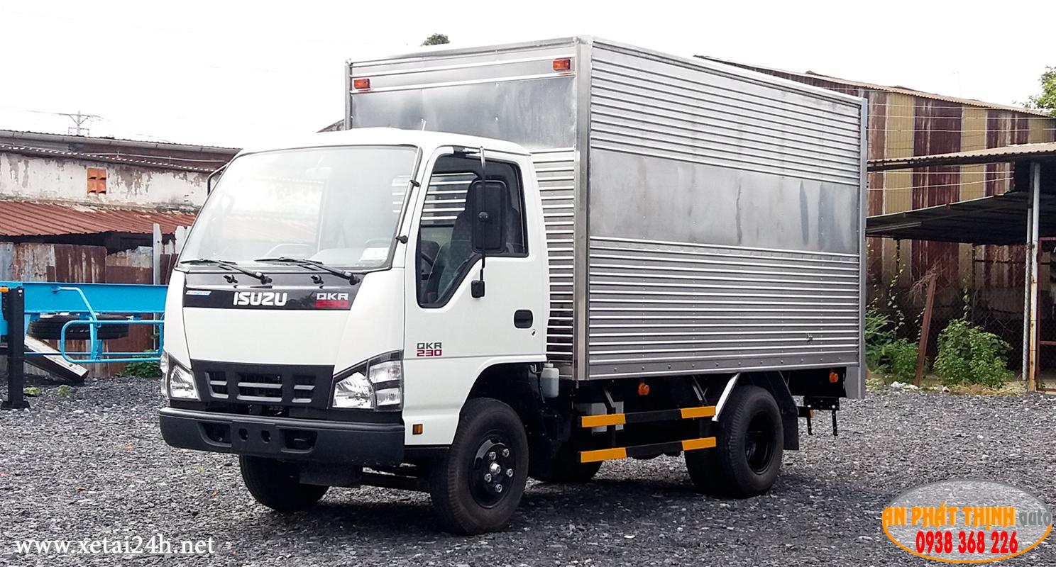 Xe tải ISUZUQKR77FE4 tải trọng 2 tấn, 2.49 tấn vào thành phố