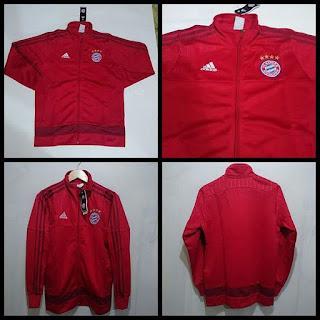 Jaket Bayern Munchen Merah