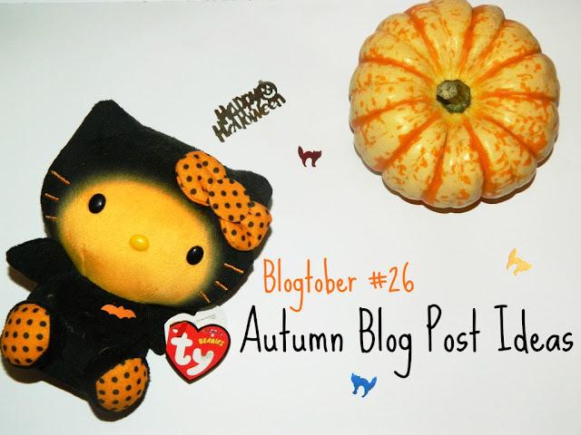 Autumn Blog Post Ideas