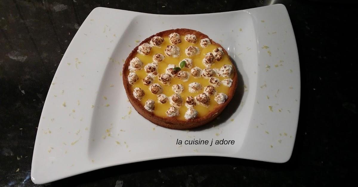La cuisine j adore the tarte au citron a la meringue for Tamiser cuisine