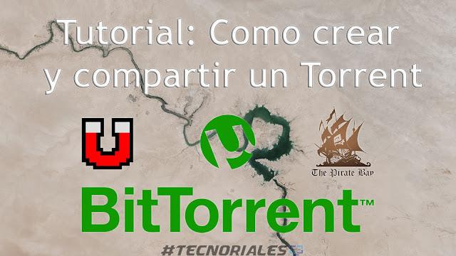 Crear torrent