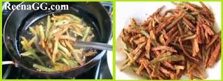 Besni Bhindi Recipe step 2