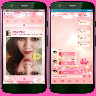 BBM Mod Bear Lovers Thema Girly V3.2.5.12Apk [Ridwan Arifin]