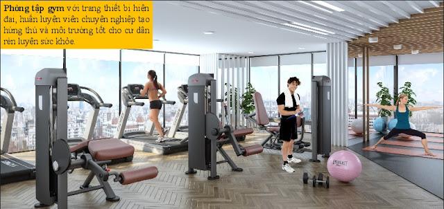 Phòng Gym tại Chung Cư The Sun