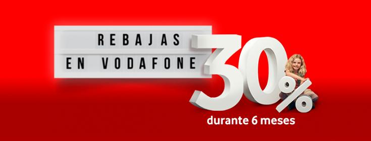 Vodafone 30% 6 meses
