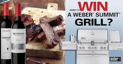 Enter the Trivento Get Grilling Sweepstakes. Ends 9/5/16