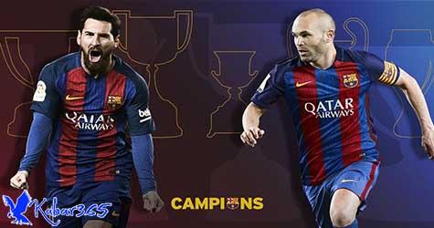 Messi Punya Kans Cetak Rekor Trofi di Barcelona Saat Piala Super Spanyol