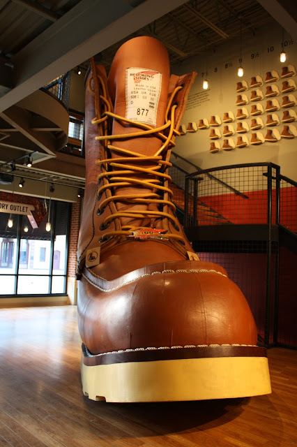 World's Largest Boot in Red Wing, Minnesota
