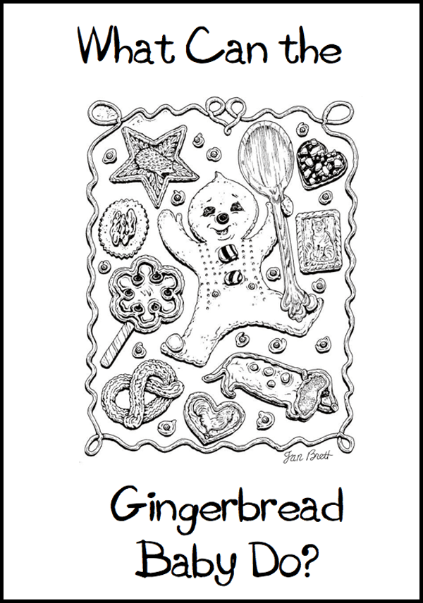Gingerbread Baby: ABC Class Book Template